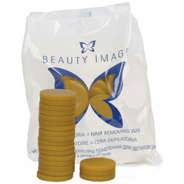 Beauty Image Cera Discos Natural 1kg