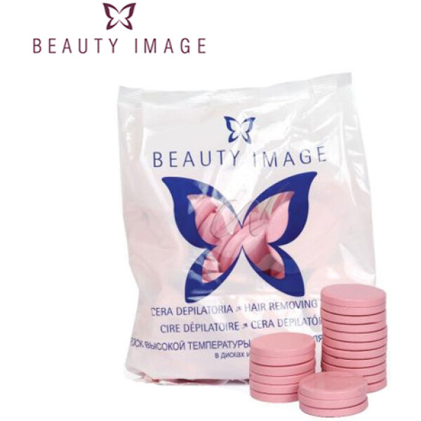 Beauty Image Cera Discos Pink 1kg