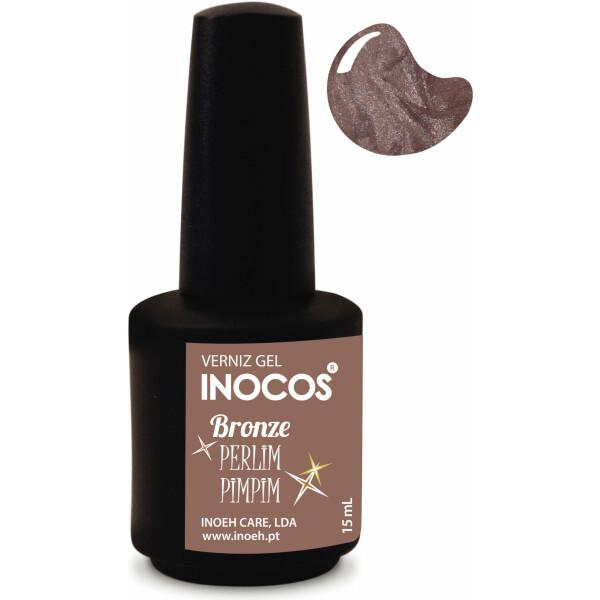 Inocos Verniz Gel Bronze Perlimpim 15ml