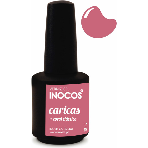 Inocos Verniz Gel Caricas 15ml