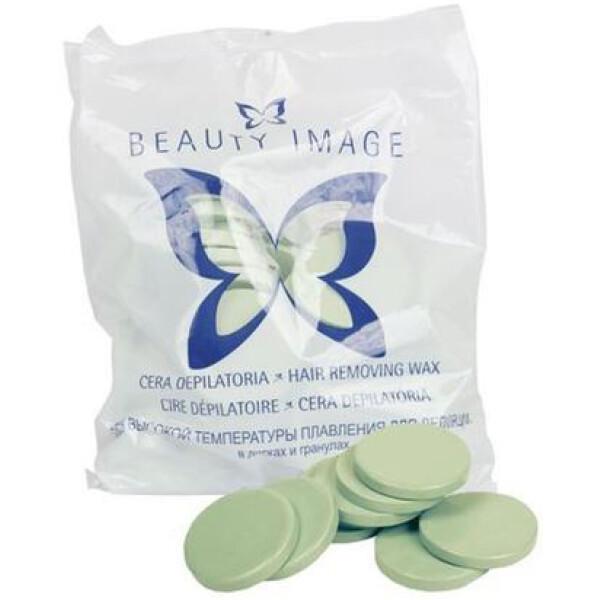 Beauty Image Cera Discos Verde 1 kg