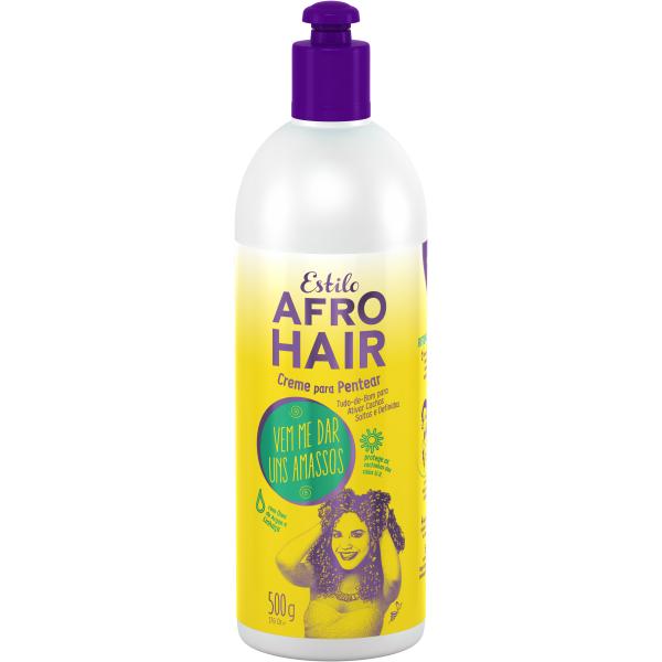 Novex Creme Pentear Afro Hair 500ml