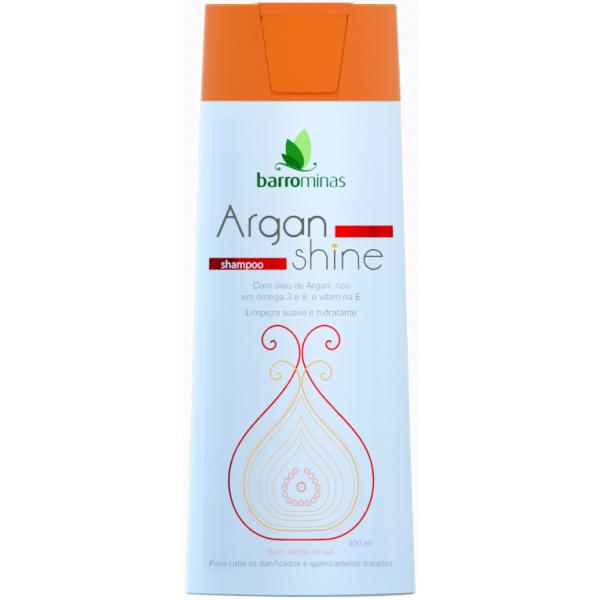 Barro Minas Shampoo Argan Shine 300ml