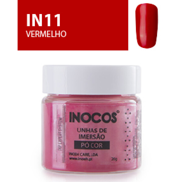 Inocos Pó Cor Vermelho IN11