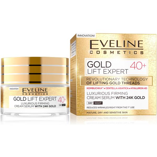 Eveline Gold Lift Expert Day&Night Cream +40 50ml