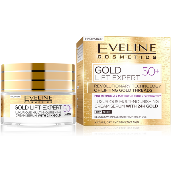Eveline Gold Lift Expert Day&Night Cream +50 50ml