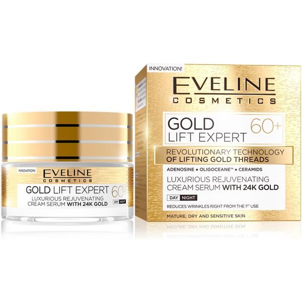 Eveline Gold Lift Expert Day&Night Cream +60 50ml