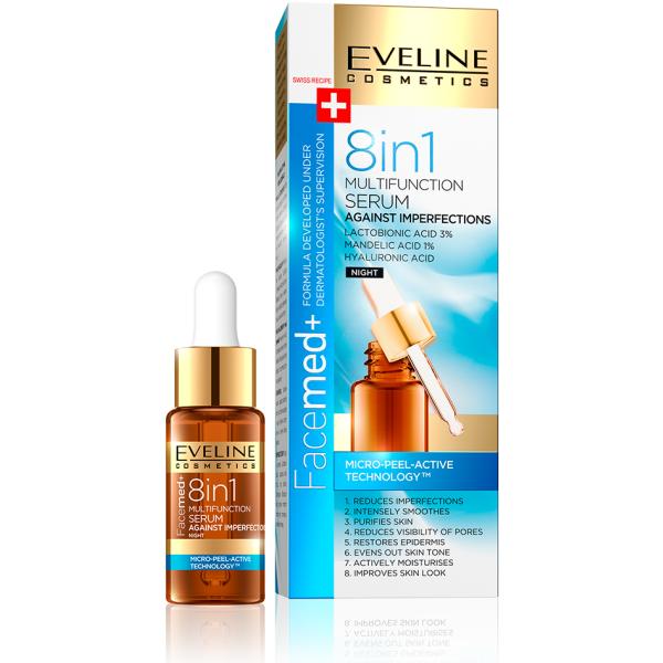 Eveline Facemed+ Serum 8 in 1 Multifinction 18ml