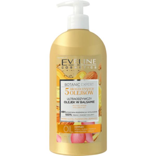 Eveline Botanic Expert 5 Precious Oils Body Oil Lotion 350ml