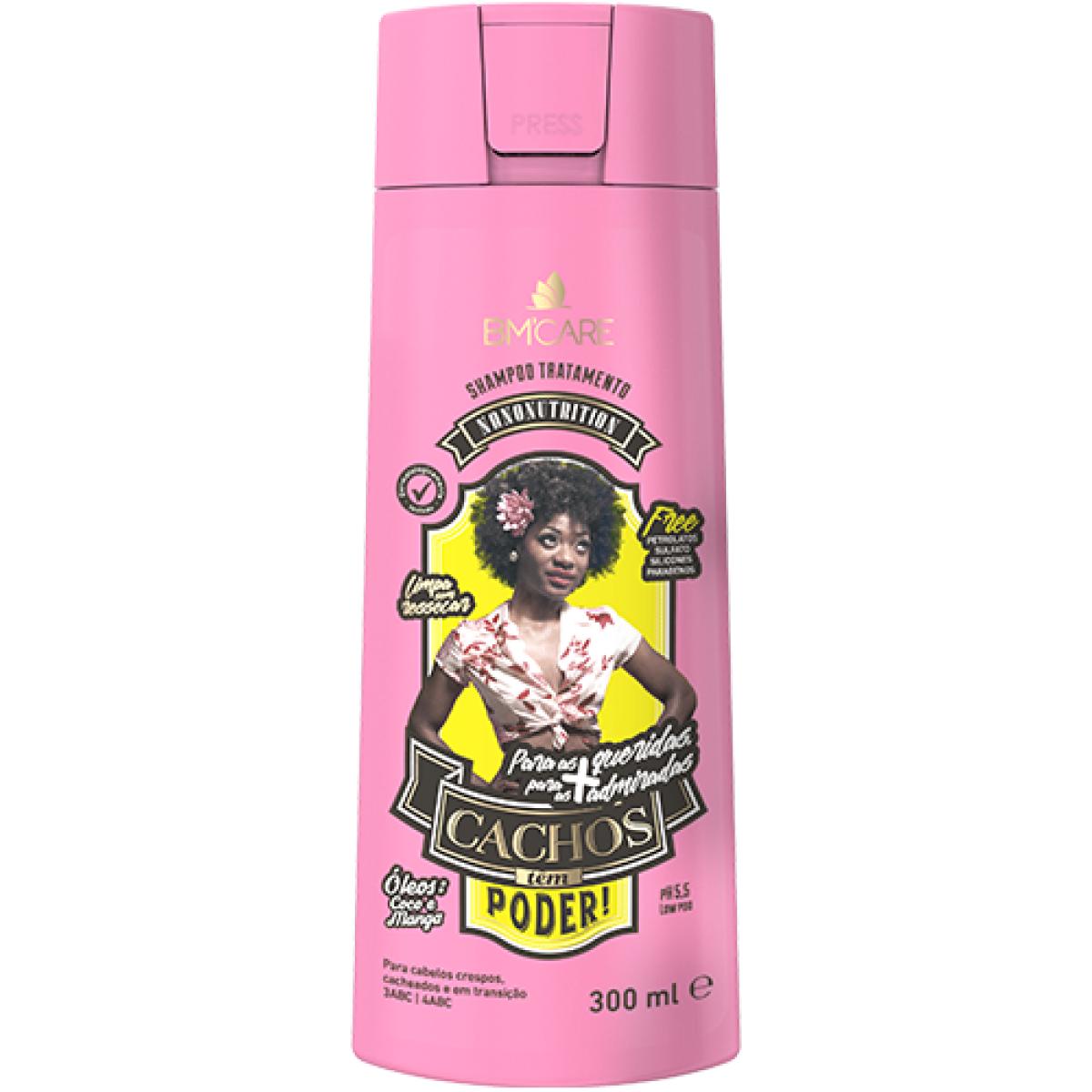 Barro Minas Shampoo Cachos Têm Poder 300ml