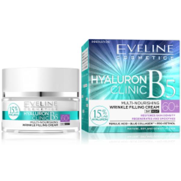 Eveline Hyaluron Clinic Day & Night Cream 60+ 50ml