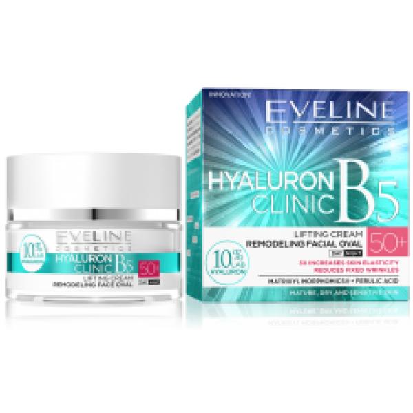 Eveline Hyaluron Clinic Day & Night Cream 50+ 50ml