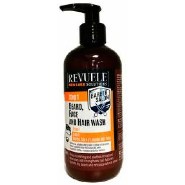 Revuele Men Care Barber Salon Shampo Step 1 3in1 300ml