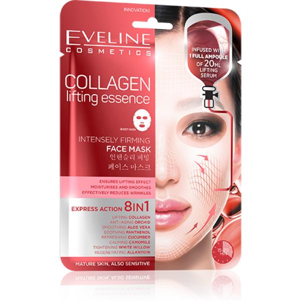 Eveline Collagen Intensely Firming Face Sheet Mask