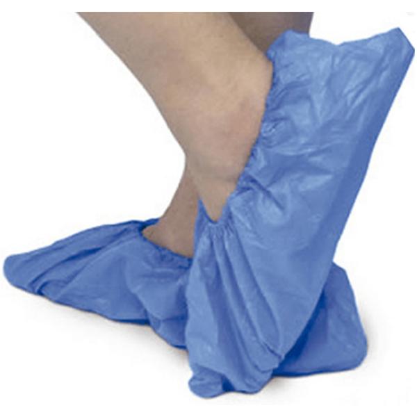 Cobre Sapatos Descartáveis Azul 100un