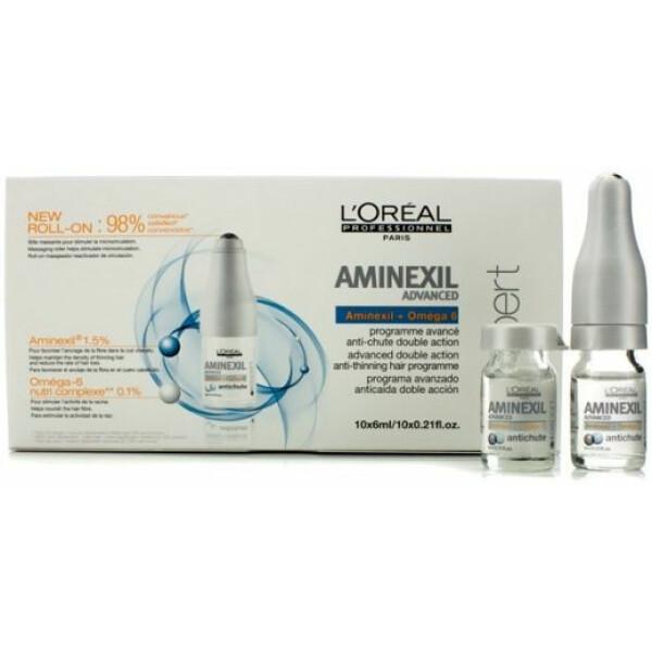 L'Oréal Aminexil Ampolas Anti Queda Caixa com 10 Unidades