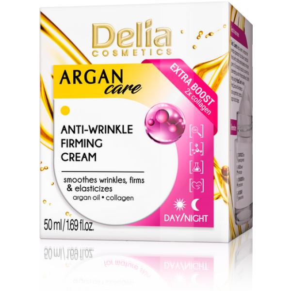 Delia Creme Argan Reafirmante Colagénio 50ml