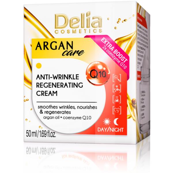 Delia Creme Argan Regenerador Coenzima Q10 50ml
