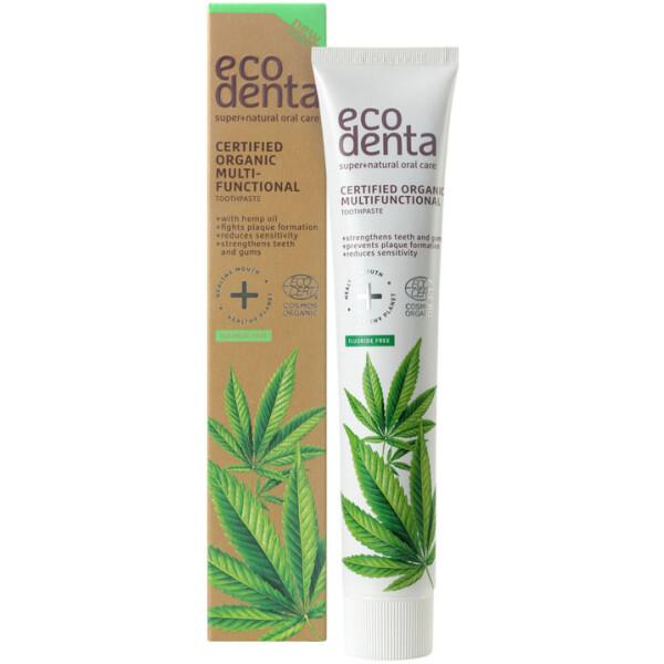 Eco Denta Pasta de Dentes Bio - Cânhamo 75ml