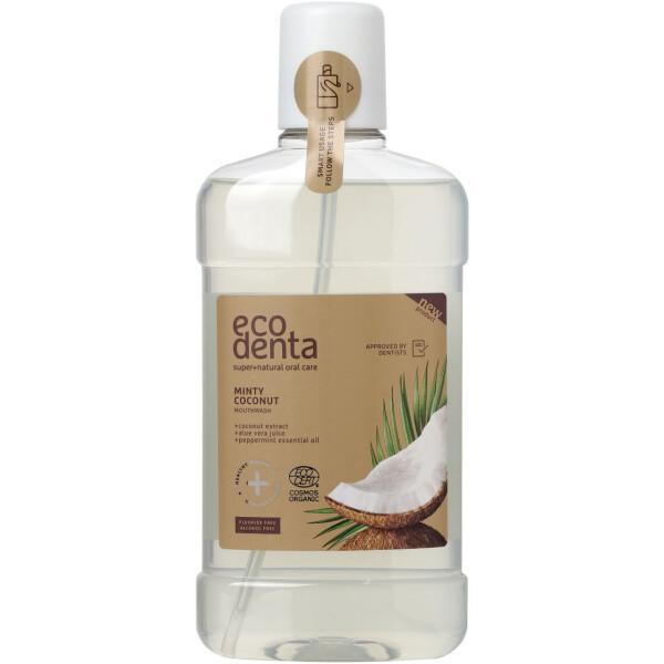 Eco Denta Elixir Dentário Bio - Coco e Menta 500ml